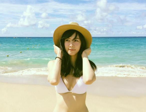 台湾美女空姐Mel Lin :空中小清新、华航周慧敏